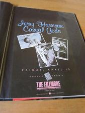 Jerry Harrison Fillmore poster 1988 Arlene Oweseichik