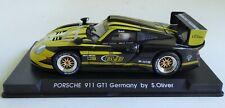 FLY PORSCHE 911 GT-1 EVO BORUSSIA GERMANY BY S. OLIVER 1:32 SLOT CAR #09 BVB