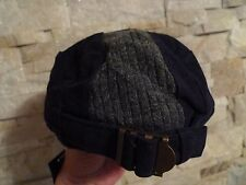 MARC JACOBS NAVY BLUE CAP WITH LINING ONE SIZE