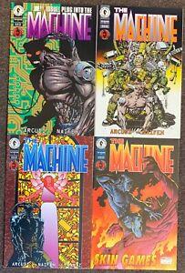 The Machine #1,2,3,4 Dark Horse Comics John Arcudi Dave Johnson Lot Nm