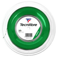 TECNIFIBRE 305 SQUASH STRING - 1.10MM - 200M REEL - GREEN - RRP £275