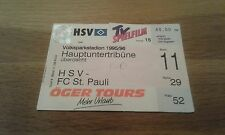 Ticket HSV - FC St, Pauli , Sammelkarte, Hamburger SV,  Ultras, STP,