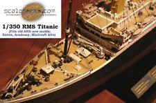 Wood Deck for 1/350 Titanic (fits Minicraft/others) by Scaledecks [LCD-30]