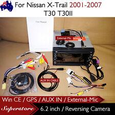 """6.2"""" CAR DVD GPS Player Head Unit Navi For Nissan X-Trail 2001-2007 T30 T30II"""