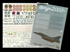 [FFSMC Productions] Decals 1/32 Foreign Mirage 2000 Inde, Egypte, Taiwan, Qatar