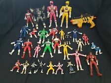 power rangers figure lot Mighty morphin lost Galaxy  wild force space time turbo