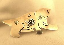 on Body by Rain (477) Cat Pin Sterling w Designs
