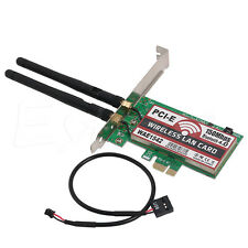 150M Wireless Bluetooth 4.0 PCI-E PCI Express Card WIFI Network LAN Ethernet NIC