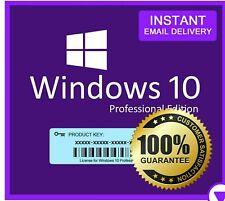 🔑🔑Genuine instantánea de Windows10 Professional Pro clave activación 🔑🔑