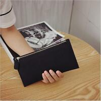 New Womens Fashion Clutch Zipper Leather Long Handbag Lady's Wallet Coin Purse