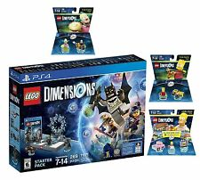 Lego Dimensions Starter Pack The Simpsons Homer Bart Krusty Playstation 4 PS4 !!