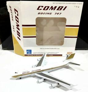 Aviation AV4742014 1 400 scale Libyan Boeing 747 Combi 5A-DIJ model air plane