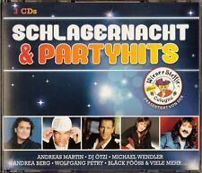 SCHLAGERNACHT & PARTYHITS / 3 CD-SET - NEU