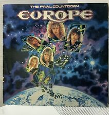 Europe/The Final Countdown 1986 USA Epic LP - Rock