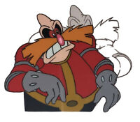"DR IVO ""EGGMAN"" ROBOTNIK Art! Adventures of Sonic the Hedgehog Animation Cel! NM"
