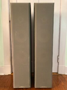 Sony SS-MF750H HiFi Floor Standing Speakers Tower Tested Works 200 Watts