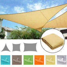 Waterproof Canopy Sun Shade Sails 300D Oxford UV Protection Top Cover Awnings