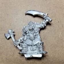Harlequin miniaturas fantasy Negro Orco Señor De La Guerra-Metal-sin pintar