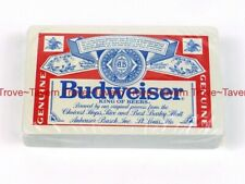 1970s Budweiser Beer Playing Cards Deck in cellophane Tavern Trove