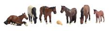 Scenecraft 379-340 Horses (Pk6) N Gauge