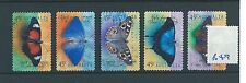 wbc. - AUSTRALIA - B49 - 1998 - BUTTERFLIES - set self adhesive -  used