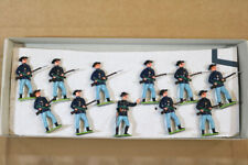 LITTLE WARS 357 AMERICAN CIVIL WAR UNION 21st MICHIGAN INFANTRY at the READY nj