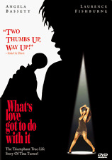 NEW DVD - WHAT'S LOVE GOT TO DO WITH IT - STORY OF TINA TURNER - Laurence Fishb