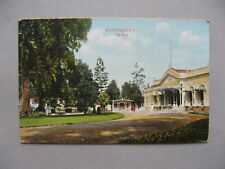 NEI NETHERLANDS INDIES, PPC (card Buitenzorg the Club) 1912