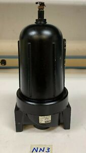 """Parker 08F64BC Pneumatic Compressed Air Filter 1 1/2""""NPT 250PSI,175F"""