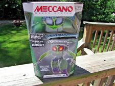 spin master Robotic Toy Programmable Meccano build  robot interactive dance mode