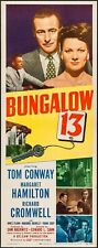 BUNGALOW 13 1948 WINDOW poster TOM CONWAY/RICHARD CROWELL CRIME NOIR