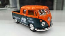 1963 Vw Volkswagen Bus Double Cab Pick-up green kinsmart car model 1/34 scale