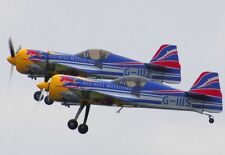 "Model Airplane Plans (RC): SUKHOI SU-26M 1-3/4"" Scale 44½""ws for .25-.40 Engines"