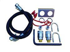 Abreisskupplungssatz für hydr. Steuergeräte, Hydraulikkupplung IHC, neu
