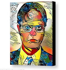 Framed The Office Dwight Schrute Abstract 9X11 Print Limited Edition w/COA