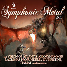 CD Symphonic Metal by Various Artists 2cds