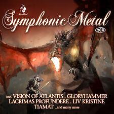 CD Symphonic Metal von Various Artists  2CDs