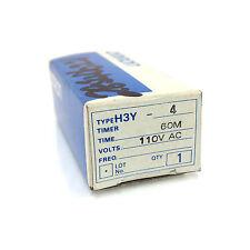 Temporizador H3Y4 Omron H3Y-4-110VAC-60M