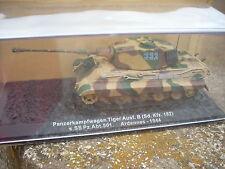 TANK PANZER KAMPFWAGEN TIGER AUST. B. ARDENNES-1944 1/72 scat 101