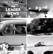 Chevrolet Leader News Newsreels 15 Vintage Films 1935 -1939 DVD