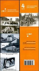 Finland Truck Reo Heavy De Soto Sisu Volvo Finland Mint Booklet MNH 2007