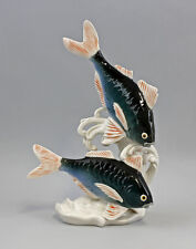 Porzellan Figur Karpfen Ens H26cm 9941276