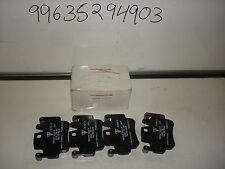 GENUINE PORSCHE BOXTEN 986 AND 987 FRONT PADS . 99635294903