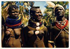 East Africa DANCERS Turkana Lake Rudolph TÄNZERinnen Kenya * 60s Ethnic Nude PC