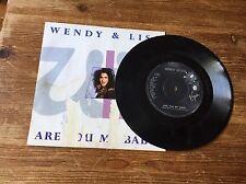 "Wendy & Lisa - Are You My Baby 7"" vinyl single"