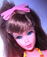 Vintage Mod 1968 Go Go Cocoa Brunette Twist N Turn TNT Barbie 1160 Japan Mint