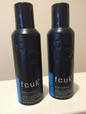 2 X FCUK Urban Body Spray 200ml
