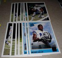 2018 Donruss Dallas Cowboys Team Set, 14 cards 5 RC