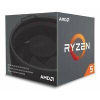 CPU Prozessor AMD Ryzen 5 2600X 4,2 GHz 6xCore 19MB 95W  Wraith Spire Kühler