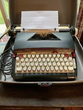 Vtg Sears Medalist Power 12 Electric Portable Typewriter W/ Case Tested